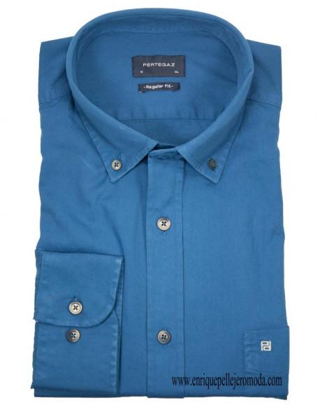 Pertegaz indigo shirt
