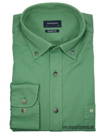 Pertegaz camisa verde claro