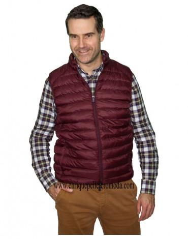 Enrique Pellejero padded brugundy waistcoat