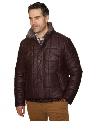 Brown jacket Enrique Pellejero