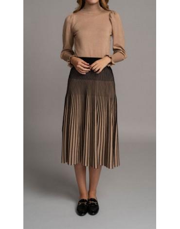 SMF Jeans knit midi skirt