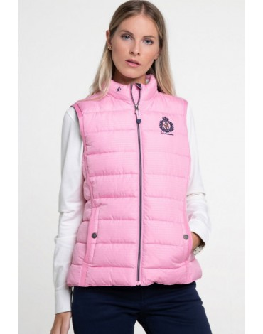 Valecuatro chaleco rosa
