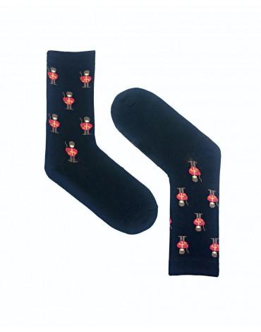 Calcetines negros soldadito