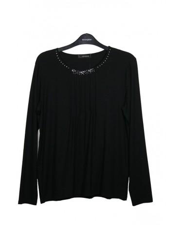 Escorpion camiseta negra