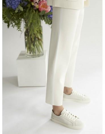 Escorpion stone color knit trousers