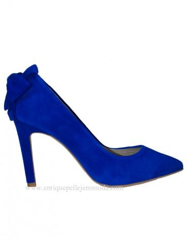 Zapatos azul electrico Daniela