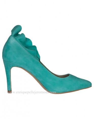 Zapatos verde mar Daniela