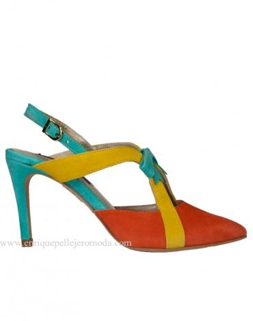 Daniela zapato tricolor