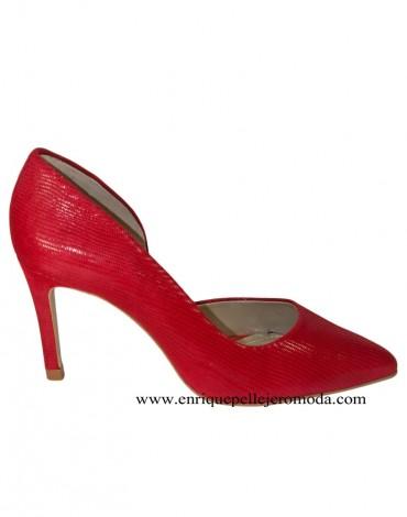 Daniela zapatos rojos
