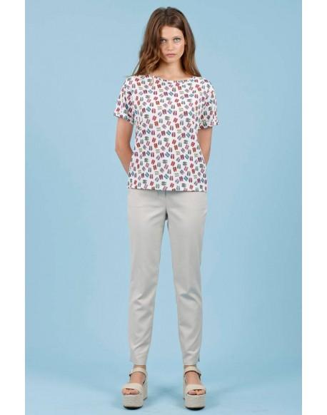 Hongo camiseta print