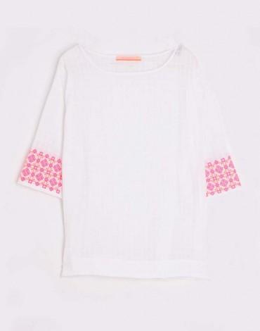 Vilagallo white blouse Casandra