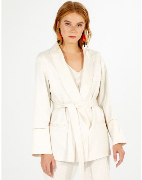 Vilagallo ecru jacket