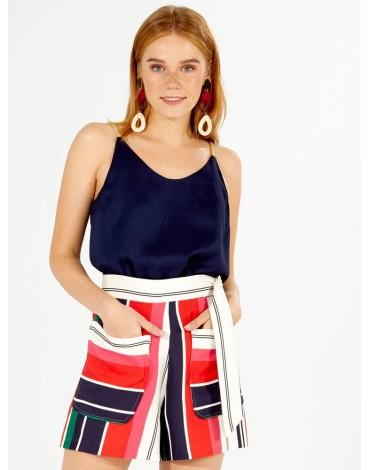 Vilagallo pantalón corto multicolor
