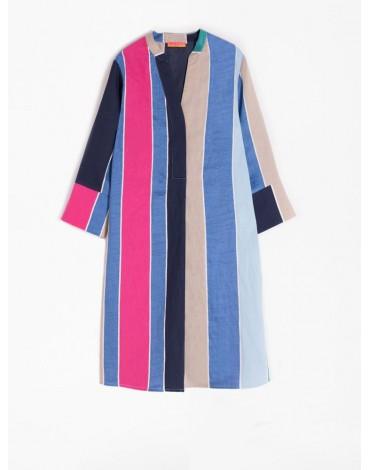 Vilagallo striped dress