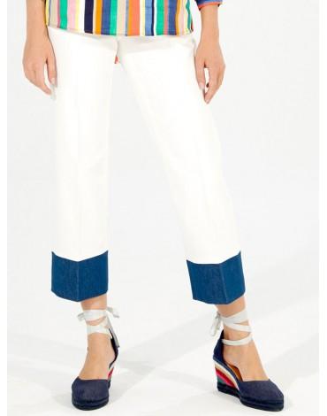 Vilagallo two-tone trousers
