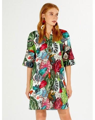 Vilagallo Nilsson print dress