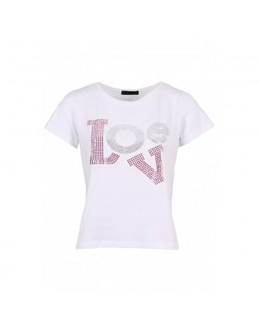 SMF camiseta blanca LOVE