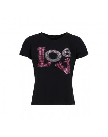 SMF camiseta negra Love