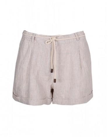 SMF short beige stripes