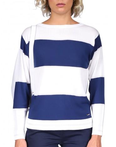 Viriato navy striped sweater