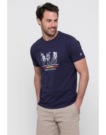 Valecuatro hombre camiseta España marino