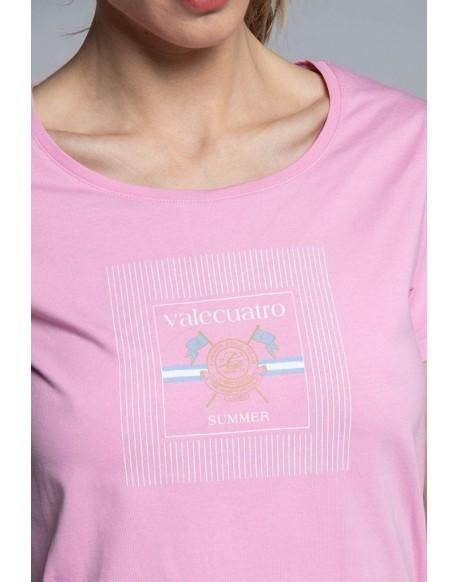 Valecuatro pink t-shirt Ladies