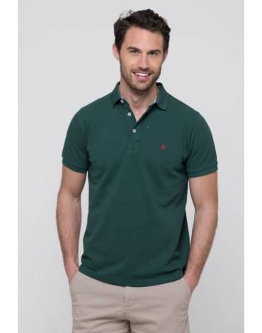 Valecuatro bottle green polo shirt
