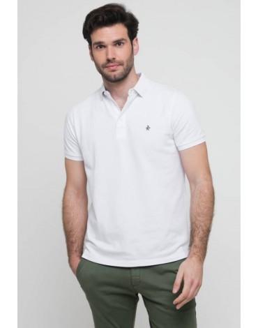 Valecuatro white polo shirt man
