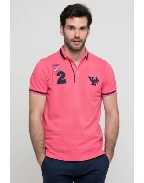 Valecuatro coral polo shirt VL4