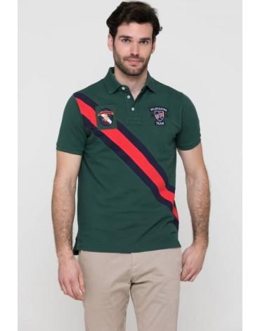Valecuatro green polo shirt