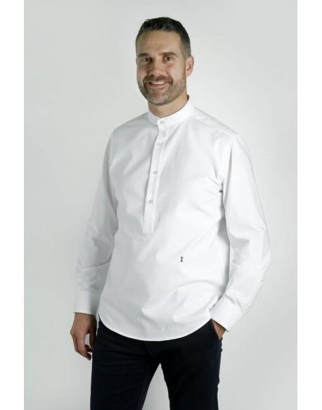 Enrique Pellejero white polo shirt