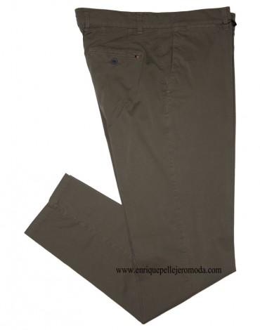 Pantalón chino verde Enrique Pellejero