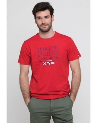 Valecuatro camiseta roja limited