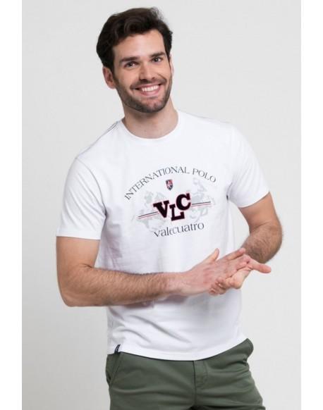 Valecuatro white t-shirt Polo VLC
