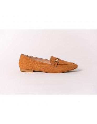 SMF zapatos camel mujer