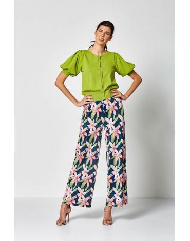 MdM pantalón estampado floral