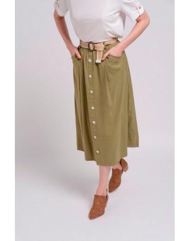 SMF falda caqui