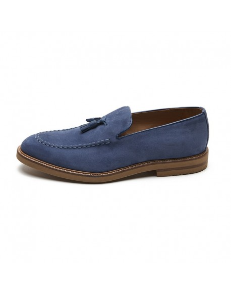 Moccasin shoes tassels jeans man