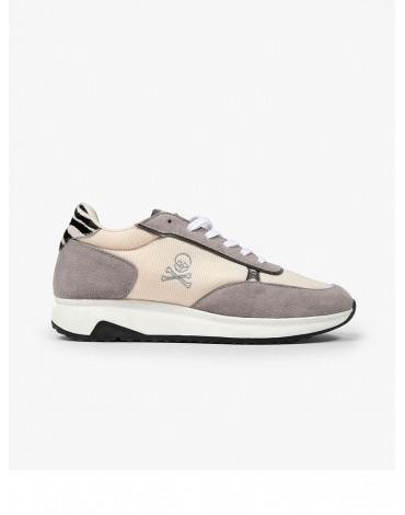 Scalpers sneakers wide sole zebra woman