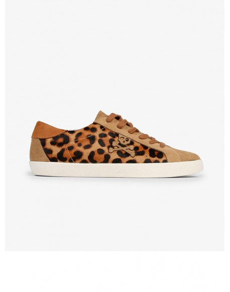 Scalpers sneakers low leopard woman