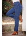 Waltron high-rise jean pants