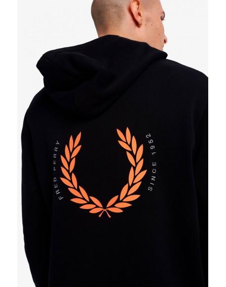 Fred Perry black hoodie