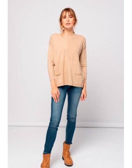 SMF slim blue jeans woman