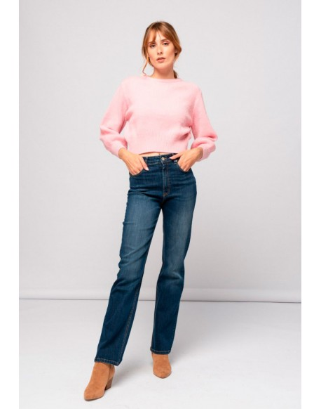 SMF straight jeans woman