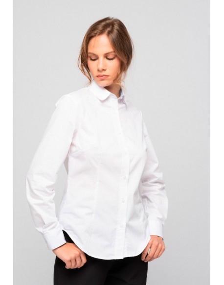 SMF white shirt women