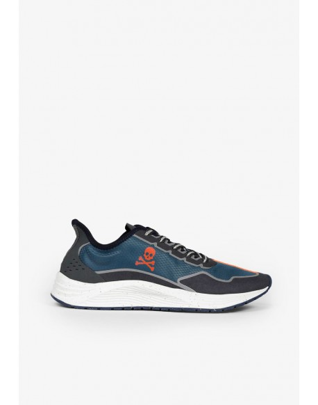 Scalpers blue trail technical sneakers