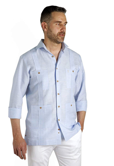 Enrique Pellejero fashion shirt guayabera