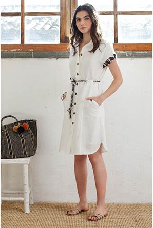 Hongo Collection shirt dress