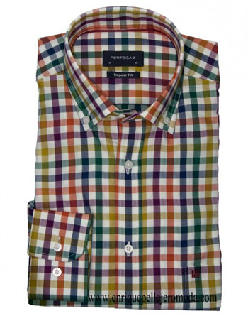 Pertegaz multicolor shirt