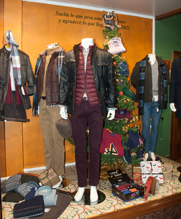 Men's clothing winter fashion